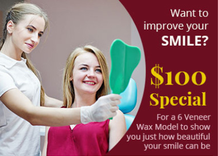 $100 Special - Promotion Banner